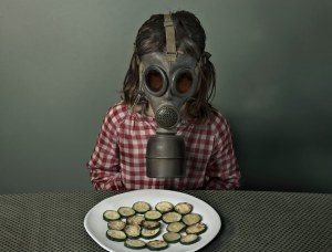 Gas Mask Veggies